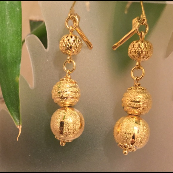 dc428b19db308b Dolce Vita Jewelry   New 3 Ball Drop Earrings   Poshmark